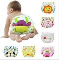 Wholesale Diaper Nappy Baby Pocket Wrap Waterproof Cover Washable Reusable Cloth Breathable PP pants underpants toddler diaper design LJJK418