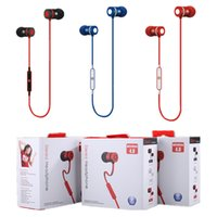 Wholesale New style u2 Headset Wireless Earphone Headphone Bluetooth Earpiece Sport Running Stereo Earbuds With Microphone Auriculares