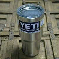 Wholesale 12 oz can COLSTER YETI OZ YETI rambler Cups Car Beer Mug Bilayer Stainless Steel yeti vehicle Insulation Cup Tumblerful cooler cup