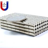 Wholesale 200pcs D4mmx8mm magnet D4x8mm magnets mm mm N35 magnet D4 permanent magnet x8mm rare earth mm x mm magnet x8 magnet mmx8mm