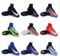 army style boots - 15 color Newest styles men assassin Mercurial superfly Boots shoes Magista FG cleats top sports shoe mens football boots