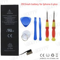 apple lithium - Mobile Phone internal replacement battery for Iphone Plus battery mah lithium phone batteries with tools kid retail paper box