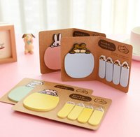 animal scrapbooking sticker - Cute Animal Korean Rabbit Sheep Kawaii Stationery Post It Diary Memo Pad Scrapbooking Sticky Notes Book Paper Sticker Bookmark HJIA573