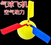 balloon production - Science and Technology Small Productions Experimental Kindergarten scientific balloon helicopter Children DIY educational toys science equip