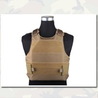 Wholesale Assault Plate Carrier Vest LAVC Combat Strike Emerson Airsoft Paintball Tactical Combat Vest EM7301 Coyote Brown Outdoor Hunting Gear