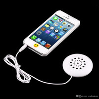 Wholesale Mini White mm Pillow Speaker for MP3 MP4 Player iPhone iPod CD Radio G00069 SPDH