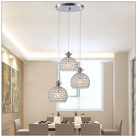 Cheap LED Chandelier Droplight Celling Lamp Pendent Lamp Black Color 3 in 1  Design With Cristal Cover New Style