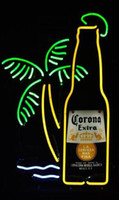 beer bottle crafts - New Corona Extra Bottle Light Glass Neon Sign Light Beer Bar Pub Arts Crafts Gifts Lighting quot