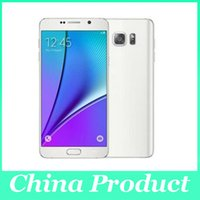 Wholesale Sealed box inch Note5 MTK6572 Dual core Android Cell phone Show G LTE M G can show G G GPS WIFI