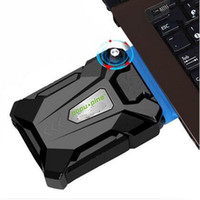 Wholesale Coolcold Portable Laptop USB Cooling Fan Air Cooler Speed Adjustable Ice Troll High Performance Notebook Fan Cooler Controller