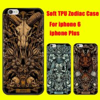aries cover - For iphone SPlus plus Zodiac Case Soft TPU Gel Phone Cover Constellations Aries Taurus Gemini Libra Sagittarius Pisces DHL Free SCA150