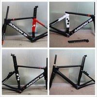 Wholesale Ship by XDB Super light g Carbon Road Frame UD Ar gon Carbon Bike Frame T1000 Carbon Frame Cadre Carbone