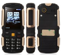 Wholesale Original M12 phone IP68 Waterproof Shockproof Dustproof mobile phone mAh battery Three Sim card GSM CDMA Russian