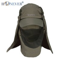 Wholesale Outdoor Fishing Hat Travel Anti UV Sport Casual Quick Dry Sun Hat Cap Leisure Summer Folding Hat