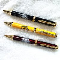 Wholesale OUGUWEN writing new artifact metal pen pen pen Ballpoint pen can be printed LOGO