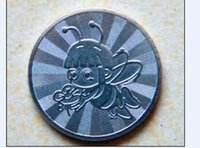 arcade tokens - 90 of stainless token for game machine arcade parts