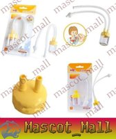 Wholesale DY212 Infant Safe Nose Cleaner Vacuum Suction Nasal Mucus Runny Aspirator High Quality hot baby care
