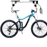 bicycle storage ceiling - Bicycle Lift Bike Ceiling Mount Pulley Hoist Rack Garage Storage Hooks Hanger