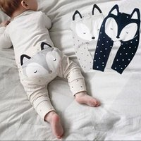 baby pp trouser - 2016 New Cartoon Baby FOX Trousers Autumn Spring Cute Animal Ploka Dots Boys Long Pants Harem pants Toddler PP Pants