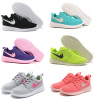 Wholesale Roshe Run Women Brand Running Shoes Classical Lightweight London Olympic Athletic Outdoor Sneakers Eur Size