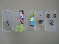 america snow - Snow White Spiderman Captain America Minions Batman UK Flag Soft TPU Case For Iphone S Plus S SE Galaxy Note7 Note S7 S6 Edge Plus