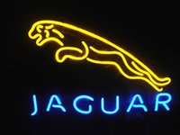 automotive neon signs - Brand New Jaguar Automotive Real Glass Neon Sign Beer light quot X24 quot