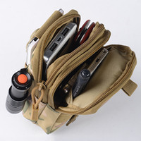 Wholesale Portable Outdoor Military Tactical Belt Waist Bags Men Waterproof Nylon Mobile Phone Wallet Travel Sport Waist Pack