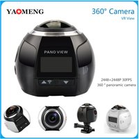 action sport drives - Factory outlets K Action Camera Wifi Mini Panoramic Camera Ultra HD Panorama Camera Degree Sport Driving VR Camera DHL