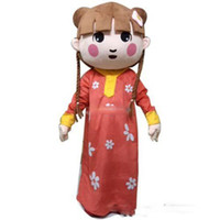 athletic girls pictures - Deluxe Freej Mascot Costume Arab Girl Mascot Costume With Fan Helmet Real Pictures