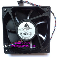 Wholesale Original Delta cm fan AFC1212DE Y4574 V A large air flow fan CFM PWM wires