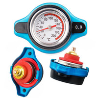 Wholesale Utility Small Head safe Thermo Radiator Cap Tank Cover With Temperature Gauge Universal Fitment bar bar bar
