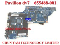 Wholesale Original laptop motherboard for HP Pavilion DV7 DV7 Notebook PC systemboard Tested Days Warranty