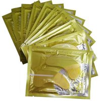 Wholesale Eye care Crystal Collagen Gold Powder Eye Mask Crystal Moisturizing Eye Mask Top Quality DHL