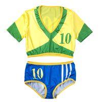 baby football costumes - Sexy Cheerleader Costume Soccer Cheerleading Uniforms Costumes Women Football Baby Sexy Sports Costume