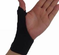 arthritis thumb splint - 1pc Elastic Thumb Wrap Hand Palm Wrist Brace Splint Support Arthritis Pain Sport Training Thumb Fitted Correction