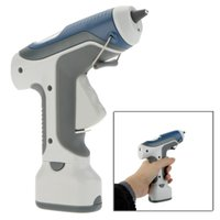hot melt glue stick machine - Pro sKit GK V Battery Cordless Hot Melt Glue Gun Block Gine LED Lighting For DIY Model Living Craft With Sticks