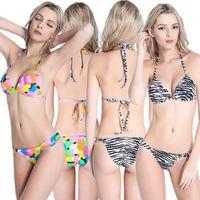 amazing bikini - Sheer Bikini Amazing Styles Skus So Cool Woman Mini Bikini New Hot Printed Micro Bikini Swimwear