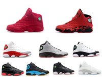 Wholesale Hot sell Mens basketball shoes Best Discount Sports Shoes Leather Retro Sneakers Outdoors Athletics Shoes fire red