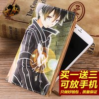 art note cards - Brand New Fashion Anime Sword Art Online Long Case Coin Case Purse Wallet PU Bag No