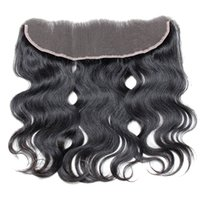 Cheap Lace Frontal Closure 13X4 Body Wave Brazilian Virgin Hair Natural Color Can Be Dyed And Bleached Human Hair Bundles Cheap Lace Closure