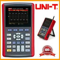 Wholesale UNI T UTD1025CL quot LCD Handheld Digital Oscilloscope Handheld digital storage oscilloscopes MHZ