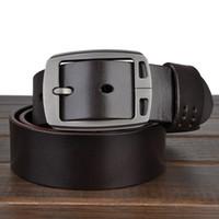 Wholesale KISSUN Men Belts Genuine Leather Handmade Veg Tanned Leather Casual Belt Jean Belt Best Quality Italy Leather Made Belt