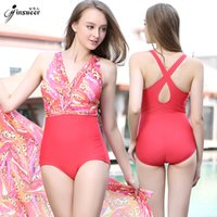 Wholesale Jin Xueer Europe and America conservative Sandy beach swimming suit woman Cover belly show thin Lin tai triangle type hot spring Swimming dr