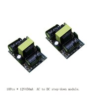 Wholesale ac dc V W switching power supply module LED ma voltage regulator module ac to dc step down module Low price now