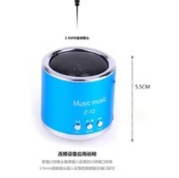 awesome card - Awesome Mini Bluetooth Speaker S28 Metal Steel Wireless Smart Hands Hi fi speaker With FM Radio Support SD Card Colors Mixed