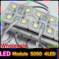 Wholesale LED LED Module V Waterproof Super Brighter Square LED Modules Lighting White Warm white Red Green Blue