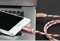 artistic aluminum - Artistic fighter for Andrews General aluminum braided nylon charging cable