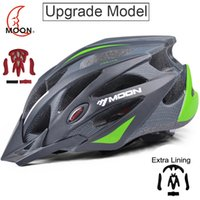 Wholesale MOON Upgrade Version Cycling Helmet Professional CE EN1078 Bike Bicycle Helmet Integrally molded Casco Ciclismo Road Mountain
