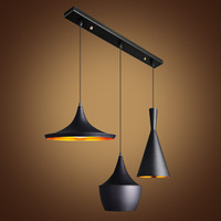 abc restaurants - NEW Design English Tom Dixon ABC Pendant Light Beat Musical Instrument Hanging Pendant Lamp Modern Droplight For Cafe Restaurant