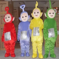 amusement clothing - Teletubbies Doll Clothes Cartoon Mascot Costume Adult Character Amusement Park Store Displays